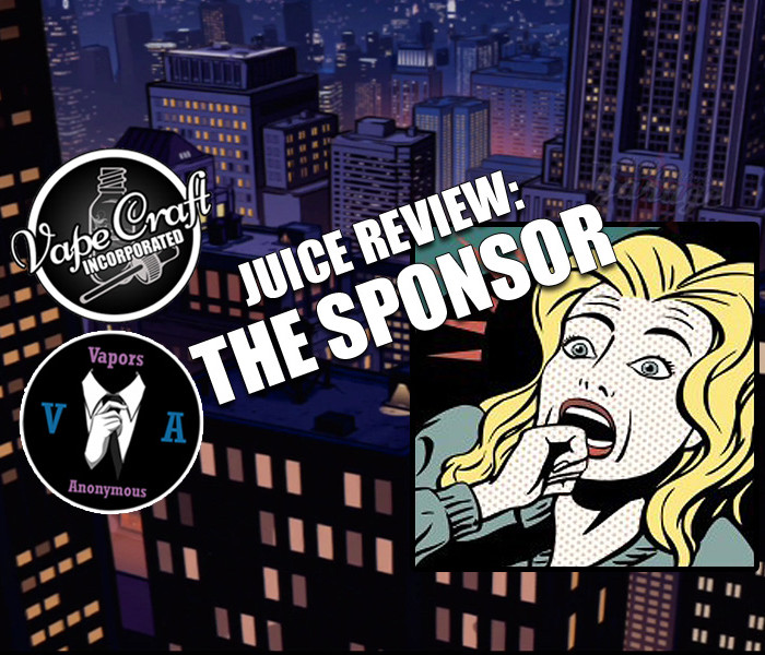 Juice Review: The Sponsor by Vapors Anonymous