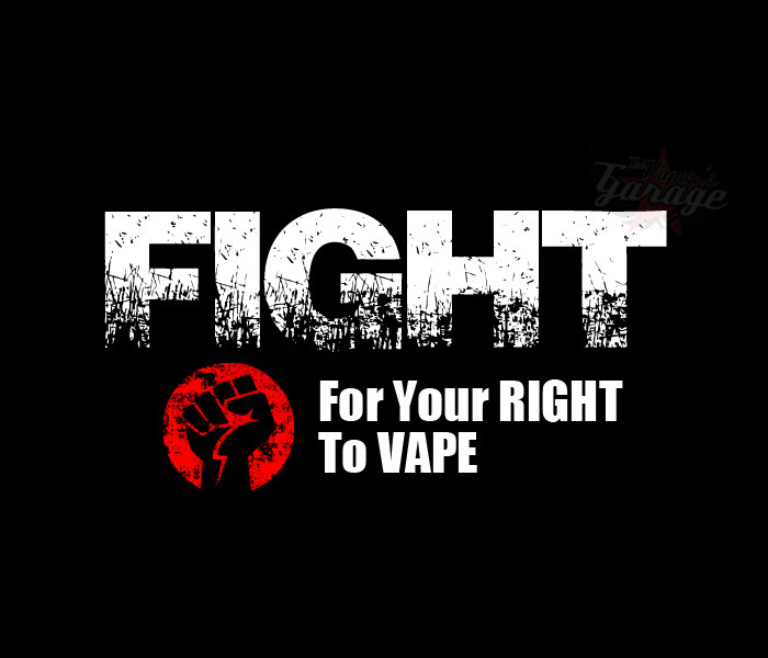 Fight for your right to Vape
