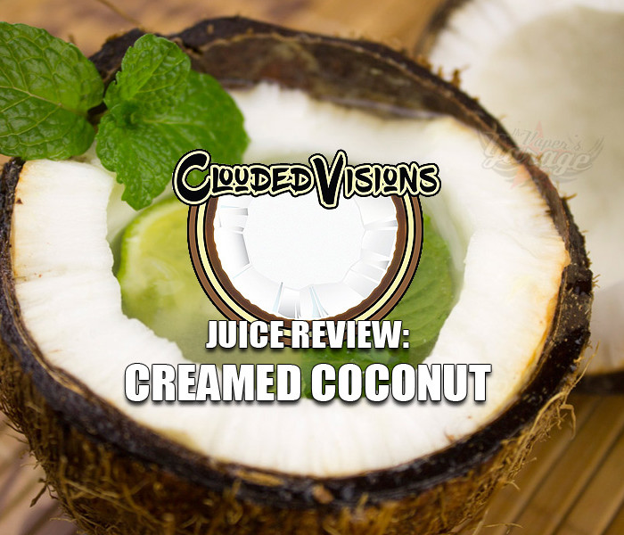 eJuice Review: Creamed Coconut by Clouded Visions