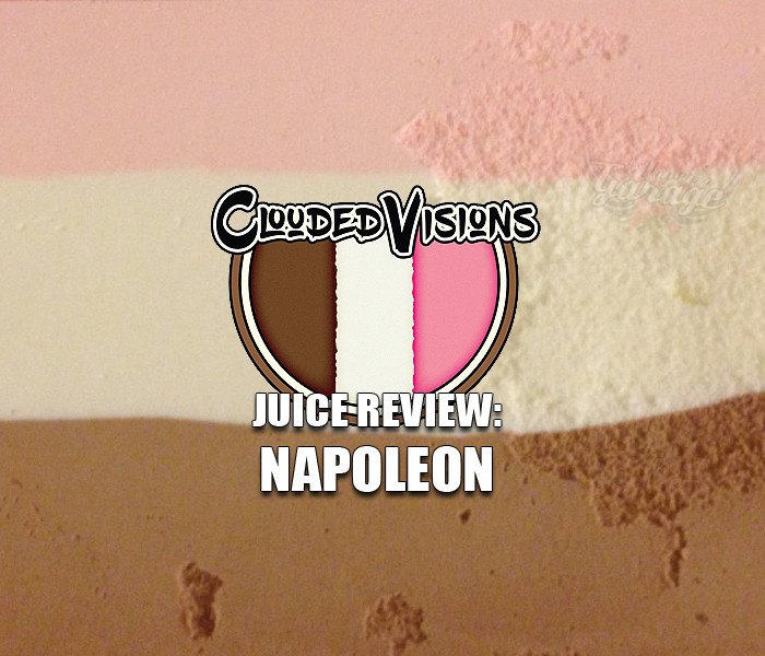eJuice Review: Napoleon by Clouded Visions