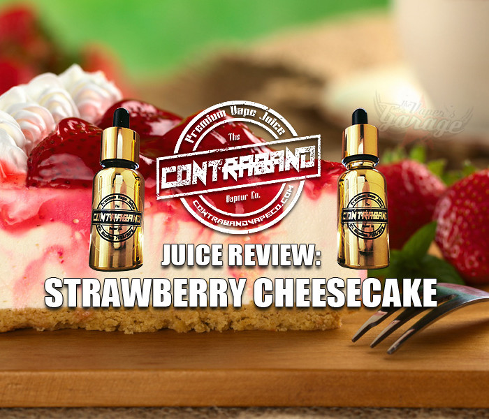 eJuice Review: Strawberry Cheesecake by Contraband Vape Co