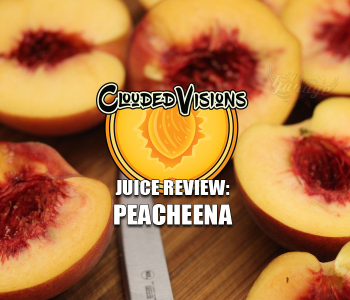 eJuice Review: Peacheena by Clouded Visions