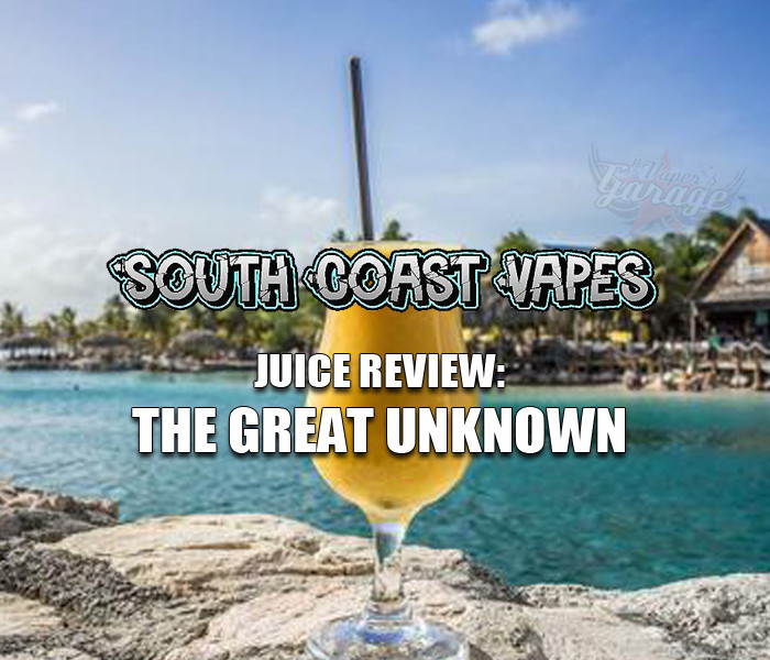 eJuice Review: The Great Unknown by South Coast Vapes