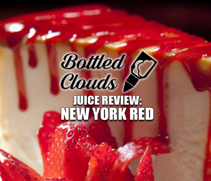 eJuice Review: New York Red by Bottled Clouds