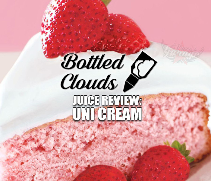 eJuice Review: Uni Cream by Bottled Clouds