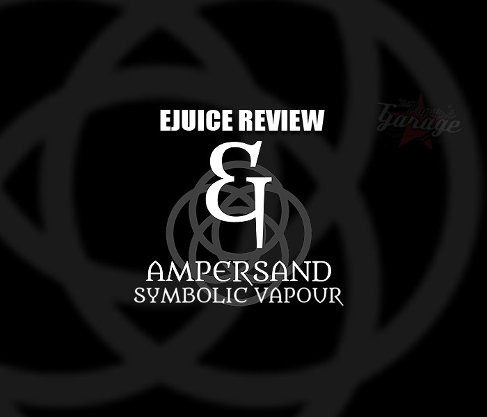 eJuice Review: Ampersand by Symbolic Vapour