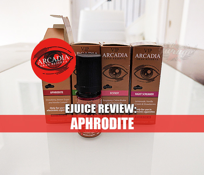 eJuice Review: Aphrodite by VIP Electronic Cigarettes