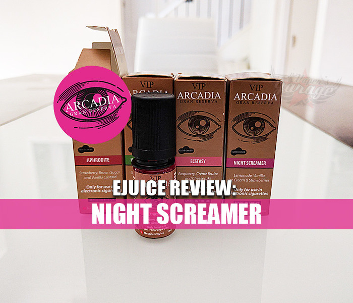 eJuice Review: Night Screamer by VIP Electronic Cigarettes
