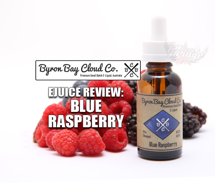 eJuice Review: Blue Raspberry by Byron Bay Cloud Co