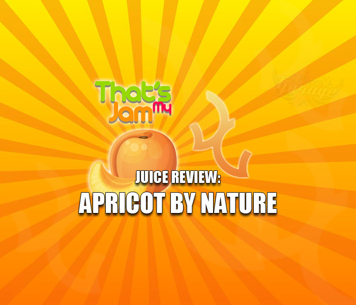 eJuice Review: That's My Jam – Apricot by Nature by Vagabond Vapour