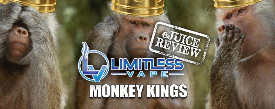 eJuice Review 186: Monkey Kings by Limitless Vape - VapersGarage