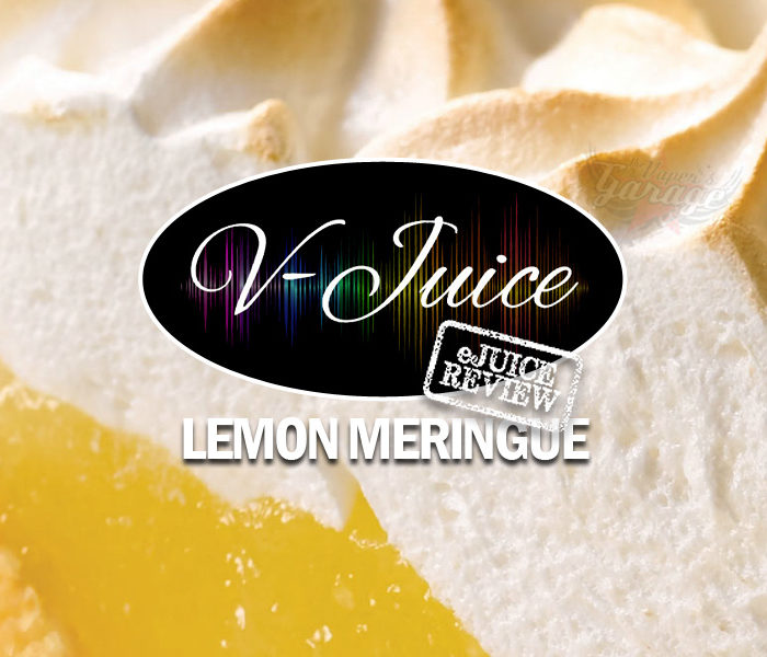 eJuice Review: Lemon Meringue by V-Juice (VAPR Australia)