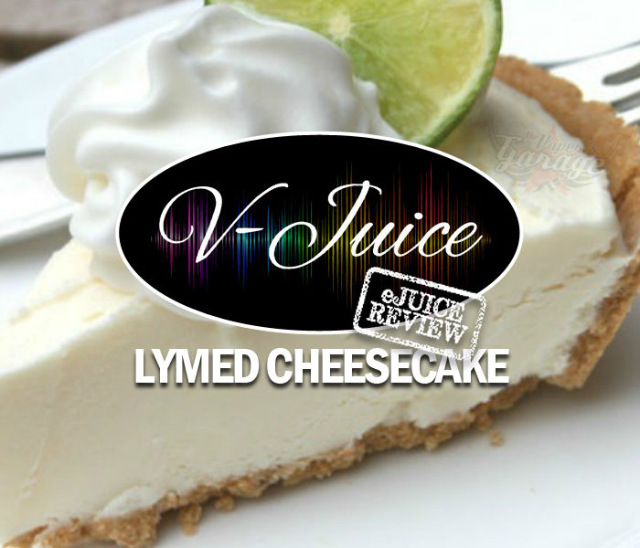 eJuice Review: Lymed Cheesecake by V-Juice (VAPR Australia)