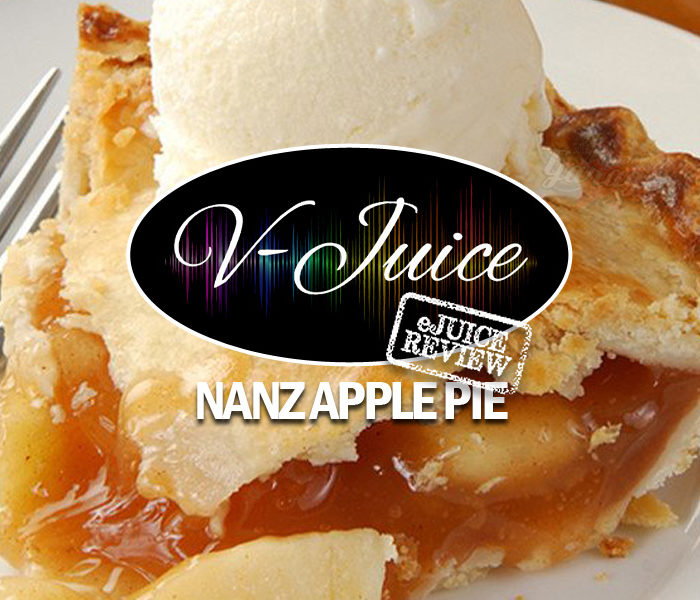 eJuice Review: Nanz Apple Pie by V-Juice (VAPR Australia)