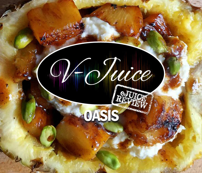 eJuice Review: Oasis by V-Juice (VAPR Australia)