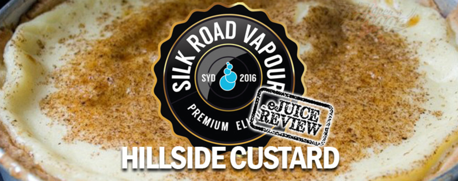 eJuice Review: Hillside Custard by Silk Road Vapour