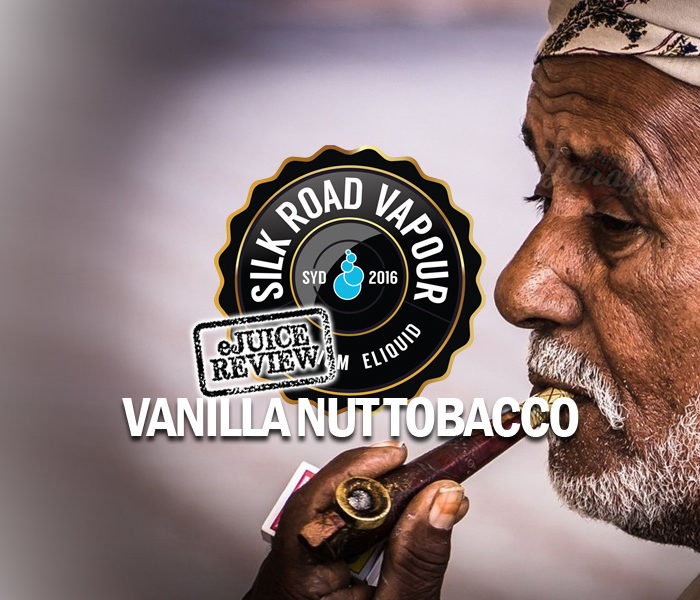 eJuice Review: Vanilla Nut Tobacco by Silk Road Vapour