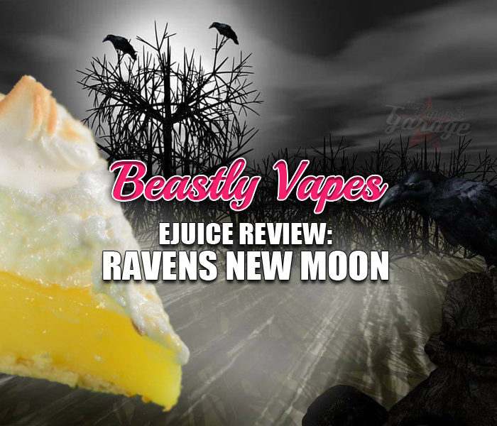 eJuice Review: Ravens New Moon by Beastly Vapes