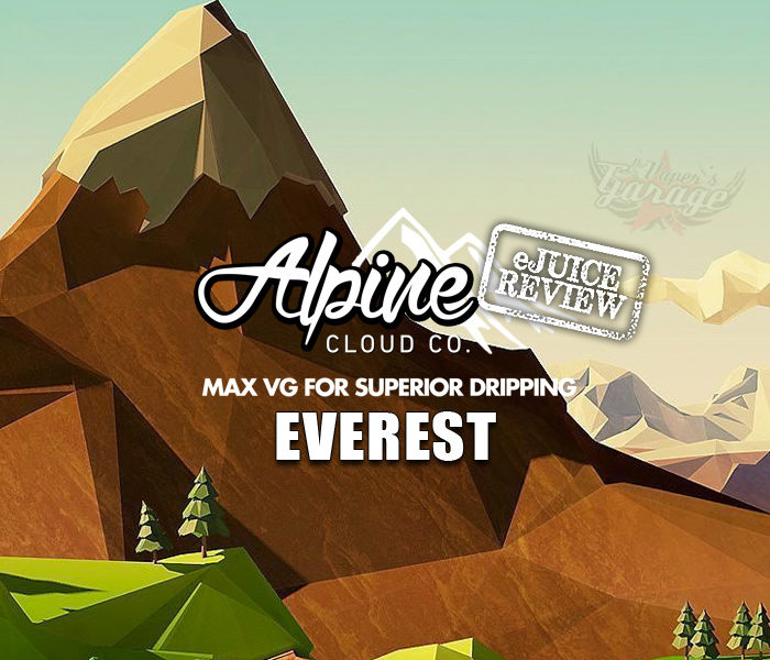 eJuice Review: Everest by Alpine Cloud Co.