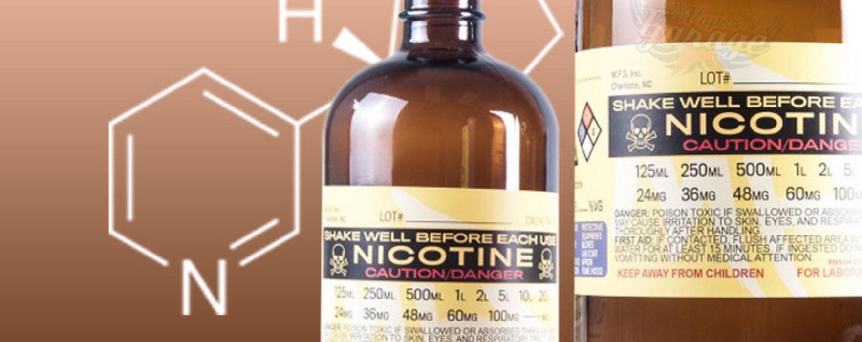 A Basic guide to adding Nicotine to your e-liquids