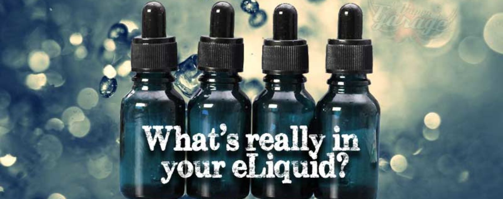 What is really in your eliquid?