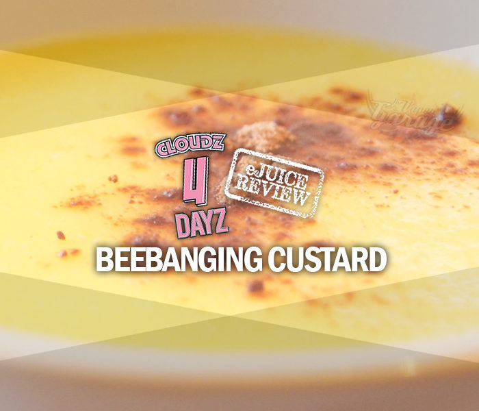 eLiquid Review: Bee Banging Custard by Cloudz 4 Dayz