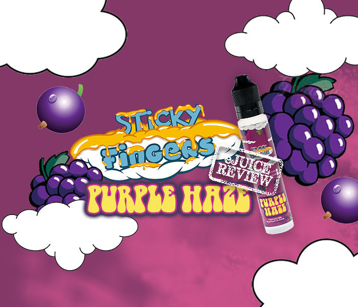 eJuice Review: Purple Haze by Sticky Fingers