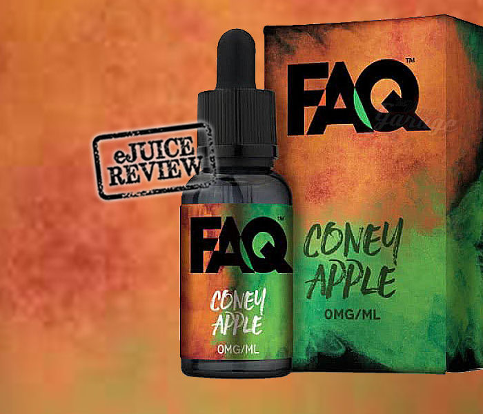 eLiquid Review: FAQ – Coney Apple from Apollo Ecigs