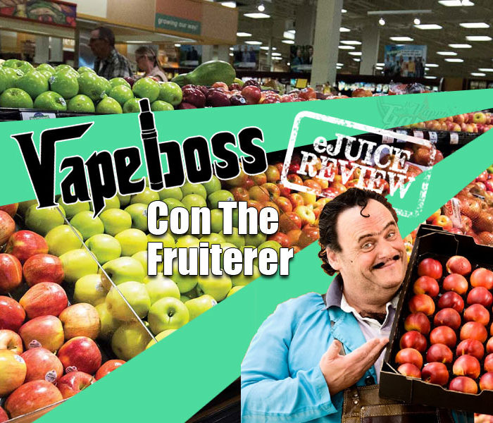 eLiquid Review: Con The Fruiterer by VapeBoss