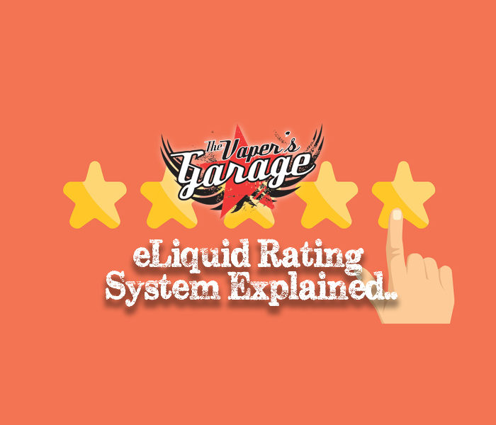 Vapers Garage eLiquid Ratings Explained