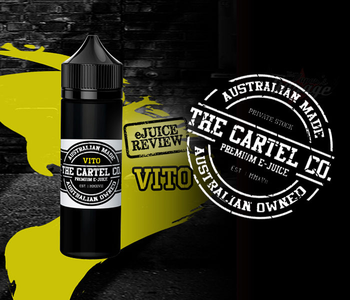eJuice Review: Vito by The Cartel Co