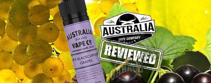 eLiquid Review 456: Super Blackcurrant Grapes by Australia Vape Co